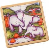 Safari Jigsaw Elephant