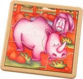 Safari Jigsaw - Rhinoceros