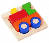 Tray Puzzles: Train Puzzle